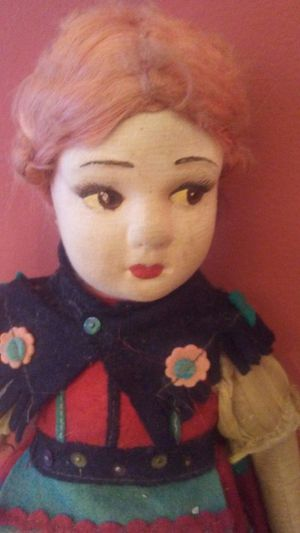 Antique German Cloth Doll, Very Old!! for Sale in Rochester Hills, MI