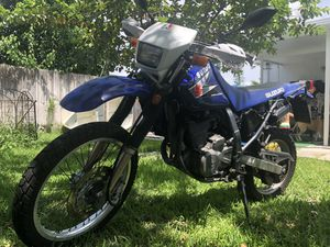 Dr650 Suzuki enduro motorcycle for Sale in North Miami, FL