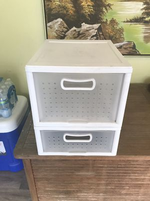 Plastic drawer for Sale in Downey, CA