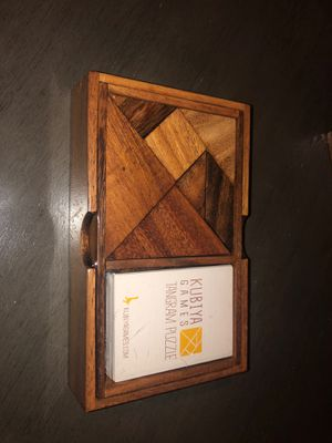 Tangram Puzzle Kubiya Games (New not Open) for Sale in New York, NY