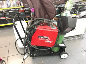 Lincoln electric welder pro mig 175 with tank and cart for Sale in Orlando, FL