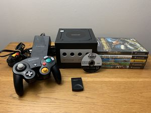 Nintendo GameCube + 6 games + OEM Controller + Memory Card for Sale in TEMPLE TERR, FL