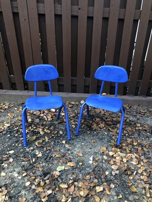 Two cute kids chairs for Sale in Alexandria, VA