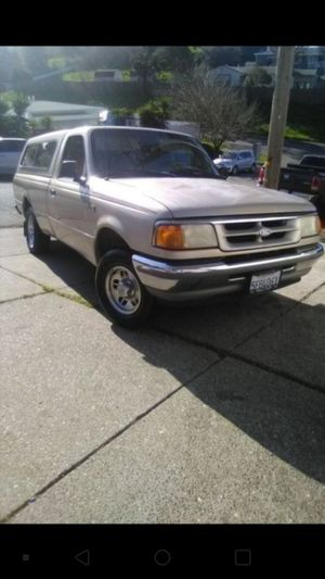 Ford Ranger automatic long bed. Low miles register till next year for Sale in Stockton, CA