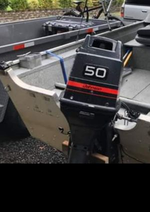 1997 50 hp johnson outboard motor for Sale in Bothell, WA