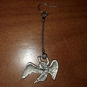 1 Led Zeppelin Silver-Tone Drop Earring for Sale in Hillsboro, MO