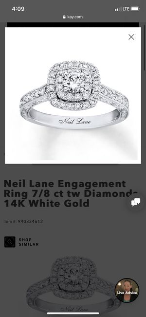 14kt /1 Ct Neil Lane Engagement ring for Sale in Orlando, FL