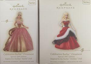 Hallmark Keepsake Celebration Barbie Ornaments for Sale in St. Louis, MO