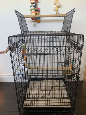 black bird cage for Sale in Los Angeles, CA