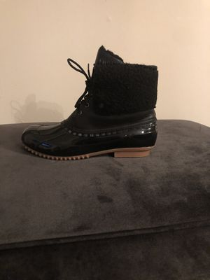 Women's Patent Duck Boot- Size 12 for Sale in Westlake, OH