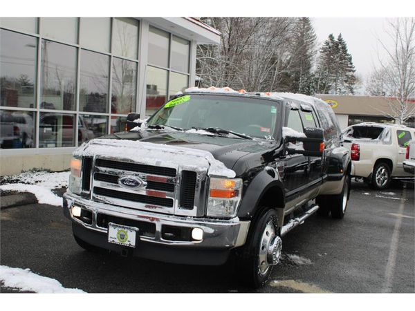 2008 Ford Super Duty F-450 DRW 4WD CREW CAB POWERSTROKE DIESEL FULLY LOADED !!