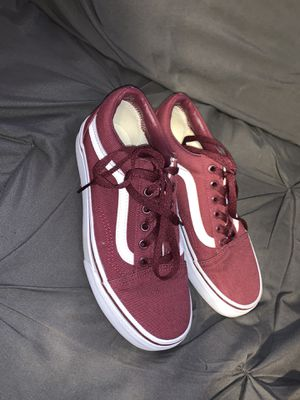 Maroon vans for Sale in San Antonio, TX