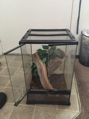 Lizard/snake tank for Sale in Kennewick, WA