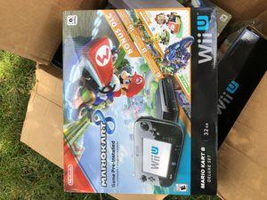 Nintendo Wii U Mario Kart 8 Deluxe set brand new for Sale in Vernon Hills, IL