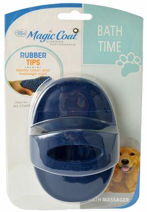 Magic Coat Bath Time Love Glove Bath Massager Rubber Tip Brush ,Dog, Puppy for Sale in Las Vegas, NV