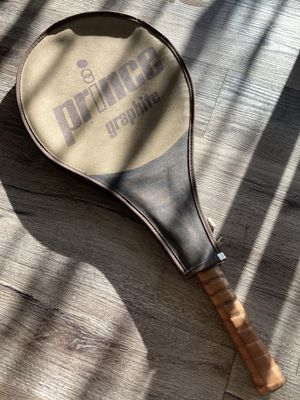 Prince graphite comp series 110 tennis racket with original zipper cover! for Sale in Lone Tree, CO
