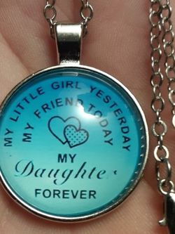 Sterling silver Necklace And Pendant For A Daughter for Sale in New Port Richey,  FL