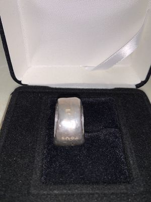 TOUS Duna 925 Sterling SilverBand Ring Size 6 Unisex for Sale in Las Vegas, NV