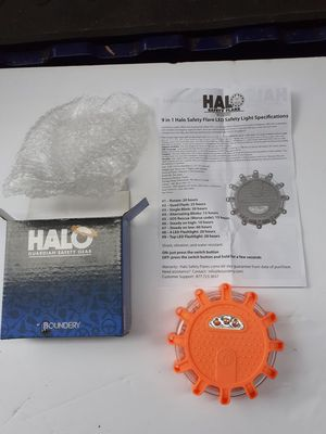 LED Safety Flare Lights by Halo, 9 in 1 model for Sale in Lynnwood, WA