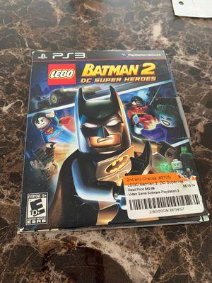 PlayStation 3 Game Lego Batman 2 for Sale in Stafford, VA
