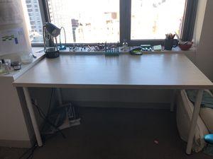 "Wooden desk 60"" x 30"" (IKEA bought) for Sale in Boston, MA"