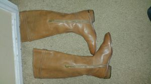 Coach leather boots for Sale in Gaithersburg, MD