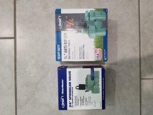 Two Orbit Sprinkler Valves for Sale in Henderson, NV