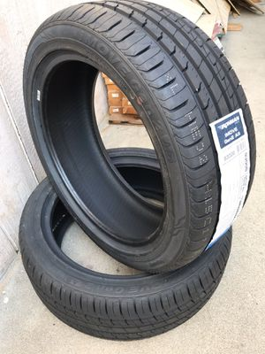 Brand new Tires 215/45/17 all 4 with sticker for Sale in Ontario, CA