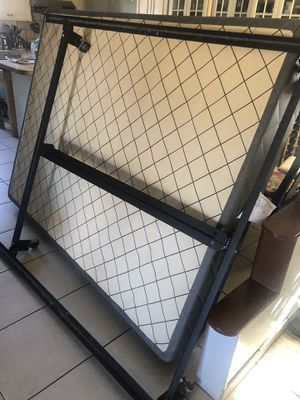 Queen size box spring n frame for Sale in Marina, CA