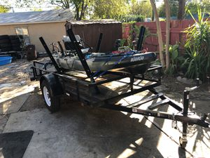 Jackson big rig kayak 13 ft. with trailer for Sale in San Antonio, TX