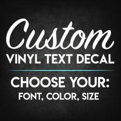 Custom vinyl decals/ custom t-shirts & hoodies for Sale in San Angelo,  TX