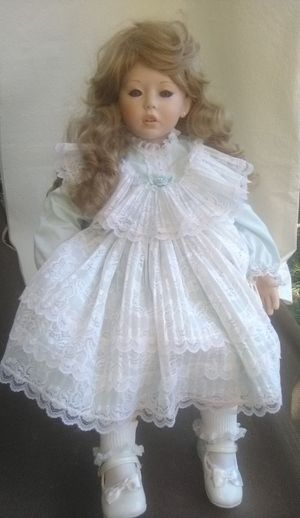 16 inch Doll beautiful violet eyes for Sale in Stockton, CA