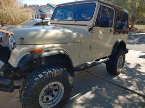 1984 Jeep CJ7 for Sale in Colorado Springs, CO