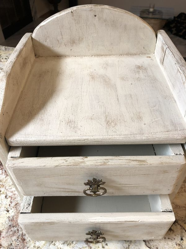 Rustic Solid Wood Storage-2 drawers