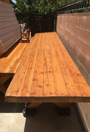 Solid oak wood table for Sale in Chatsworth, CA