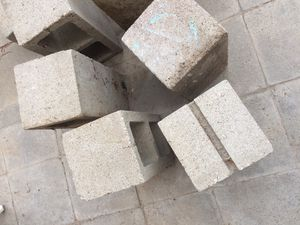 Cement Blocks 8 of them... for Sale in Palmdale, CA