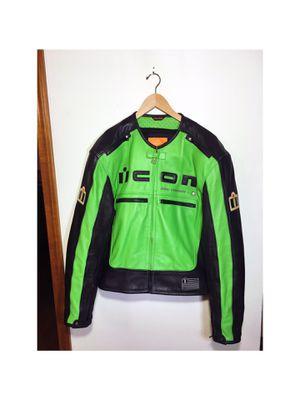 ICON Motorhead jacket in racing green size Mens XL for Sale in Renton, WA