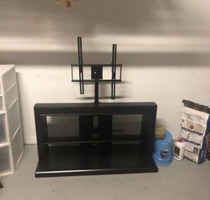 Rack tv ! Black ! Perfect condition! for Sale in Orlando, FL