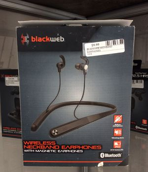 Blackweb wireless neckband earphones for Sale in Escondido, CA