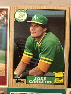 Jose Canseco Baseball Cards for Sale in South Brunswick Township, NJ
