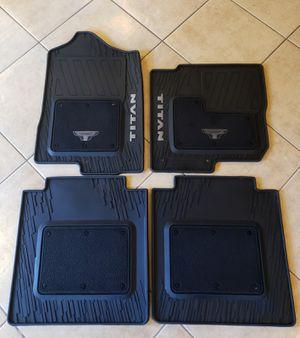 Nissan Titan Platinum Reserve OEM Mats for Sale in Chula Vista, CA