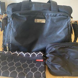 Jujube Diaper Bag Bundle - Black for Sale in Long Beach, CA