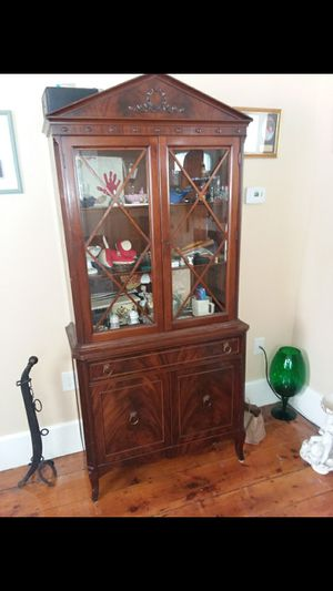 China cabinet Antique for Sale in Lowell, MA