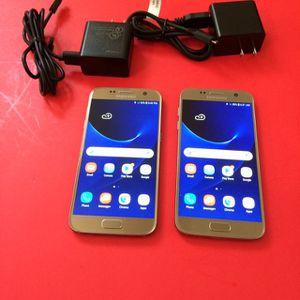 Galaxy S7 32gb Verizon/unlocked $150 Each, $300 both firm no trade for Sale in Sacramento, CA