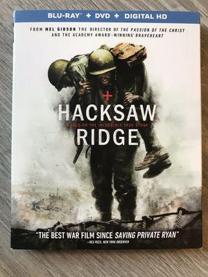Hacksaw Ridge Blu Ray for Sale in Bremerton, WA