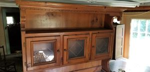 1970s 2 piece Cabinet for Sale in Victoria, VA