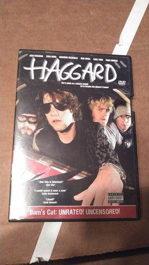 Bam Margera Haggard DVD for Sale in Rancho Cucamonga, CA