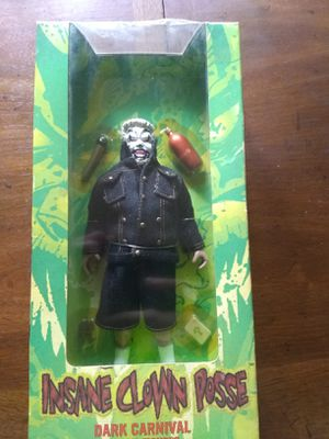 Icp violent j dark carnival action figure for Sale in West Newton, PA