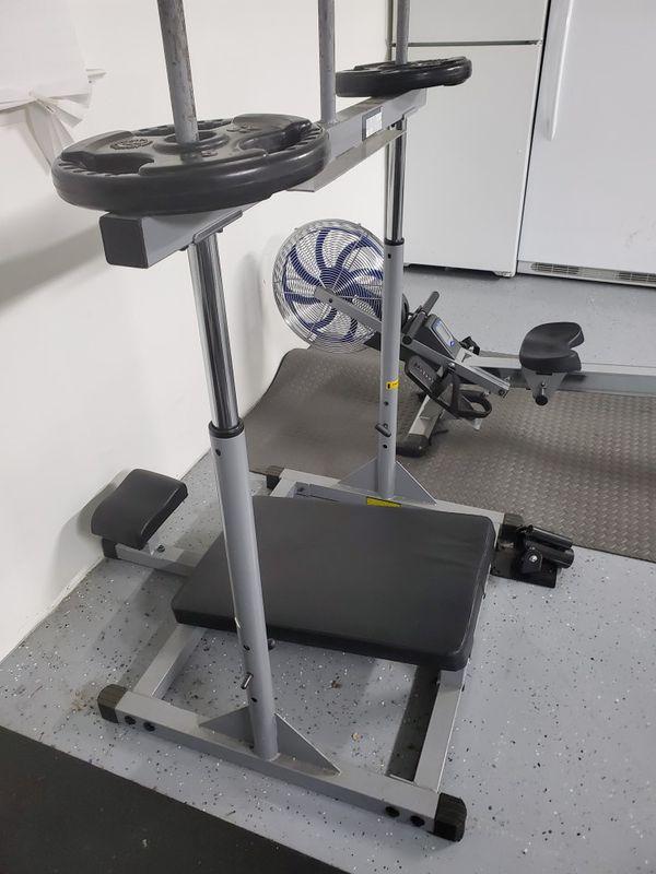 BodySolid vertical leg press