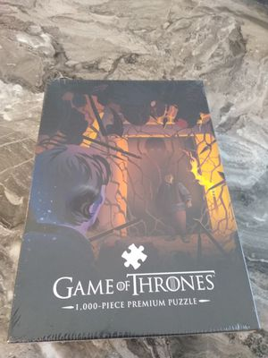 New game of thrones puzzle shipping only no pickup for Sale in Apalachicola, FL